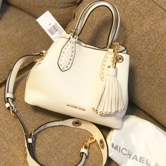0a842543588be Michael kors Brooklyn small satchel crossbody Bag
